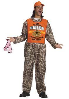adult beaver hunter costume halloween funny adult - Semi Pro Halloween Costume