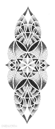 "Mandala Tattoo Idea - ""Amazing Tattoo starts with a quality drawing first … "" All our tattoo designs are authentic - Mandala Tattoo Design, Geometric Tattoo Stencil, Geometric Tattoo Cover Up, Dotwork Tattoo Mandala, Tattoo Designs, Geometric Tattoo Design, Tattoo Stencils, Dot Tattoos, Dot Work Tattoo"