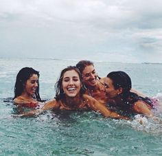 Me, u, Katie and liv and whoever else wants to swim in freezing cold water lol xx
