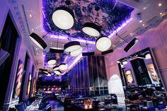America Restaurant lighting by Viso, Toronto – Canada