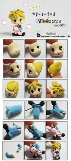 兔小贩>手工DIY——粘土系列教程