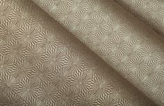 Kaleidoscope Upholstery Fabric in Clay is a geometric fabric in a beautiful taupe color. The small-scale print makes it perfect for modern designs. Get this cotton-blend fabric at the discounted price of $29 per yard at FabricSeen. Find more small scale discount designer fabrics in the InsideSeen Design Blog: http://blog.fabricseen.com/find-fabric-scale-for-every-interior-design/.