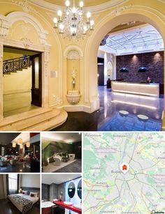 O hotel situa-se no centro da cidade de Budapeste, no lado de Peste, na zona histórica. Goza de uma localização ideal próximo de uma linha de metro e a um quarteirão da Grand Boulevard. Os hóspedes encontrarão restaurantes e bares apenas a 100 m e clubes nocturnos e ligações à rede de transportes públicos a cerca de 500 m. O Museu Nacional Húngaro fica igualmente a 500 m de distância, o Grande Mercado, com várias lojas, encontra-se a 800 m e são 2 km até à Basílica de Szent Istvan e cerca de…