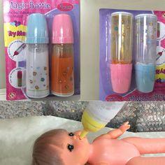 Magic mike bottle baby doll feeding bottle feeder for doll toy milk bottle.