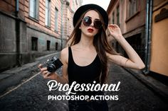 Professional Photoshop Actions by Willa-Willa on @creativework247