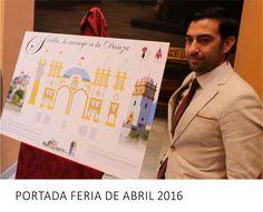 Diseño de la Portada de la Feria de Sevilla 2016   http://www.limagemarketing.es/portfolio/portada-feria-abril-sevilla-2016/   L'image Marketing   Agencia de Publicidad y Comunicación en Sevilla