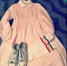 Buy Autumn Women Long Sleeve Pink Dress Eleven Dress Stranger Things Eleven Dress Stranger Things Cosplay Costume Plus Size at Wish - Shopping Made Fun Halloween 2018, Halloween Costumes, Nylons, Pink Long Sleeve Dress, Pink Dress, Disfraces Stranger Things, Costume Dress, Cosplay Costumes, Cosplay Dress