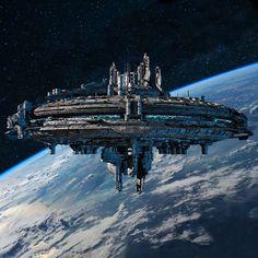 Znalezione obrazy dla zapytania sci fi base