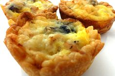 Turkey and mushroom quiche recipe from Organix