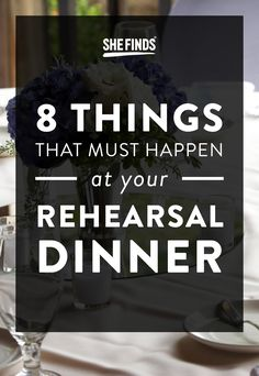 Did this for my sons wedding rehearsal dinner dessert table 8 things that must happen at your rehearsal dinner solutioingenieria Choice Image