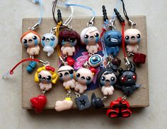 The Binding Of Isaac Rebirth phone Charm (Any character) by LootreArt on Etsy https://www.etsy.com/listing/210548789/the-binding-of-isaac-rebirth-phone-charm