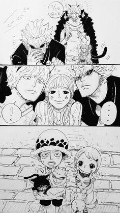 A-adorable. One Piece Anime, One Piece Comic, One Piece 1, One Piece Images, One Piece Pictures, One Piece Fanart, Manga Anime, Anime Art, Tatuagem One Piece