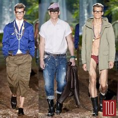 Dsquared2 Spring 2014 Menswear Collection