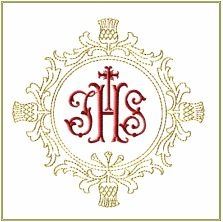 JHS Cross Frame embroidery designs