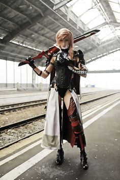 best lighting cosplay i HAVE EVER SEEN!!  Final Fantasy Outfits: Silly Characters, Terrific Cosplay
