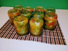 Vinegar, Pickles, Cucumber, Carrots, Stuffed Peppers, Vegetables, Cooking, Recipes, Food