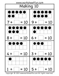 First Grade Worksheets / FREE Printable Worksheets – Worksheetfun First Grade Worksheets, Kindergarten Math Worksheets, Math Resources, Math Activities, Preschool Kindergarten, Math Sheets, Math Addition, Free Printable Worksheets, Math Numbers
