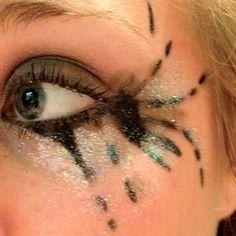Kesha makeup for the concert!
