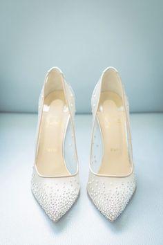 cb81d395a28 #weddingideas #shoes #shoesaddict #shoesoftheday Wedding Shoes Christian  Louboutin, Christian Wedding Dress