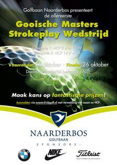 1e Gooische Masters Strokeplay Wedstrijd