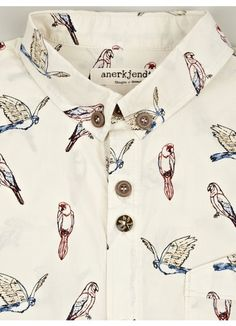 Men's Parrot Print Regin Shirt