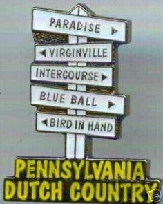Only in Pennsylvania!