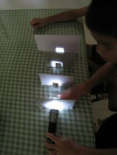 Light Experiments #STEM