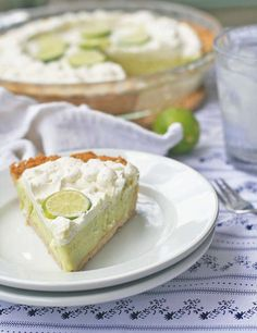 The Barefoot Contessa's Frozen Key Lime Pie
