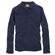 Men's Earthkeepers® Long Sleeve Henley Shirt. TIMBERLAND
