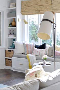 【设计】舒适Window Seat设计,打造小角落的浪漫与温情