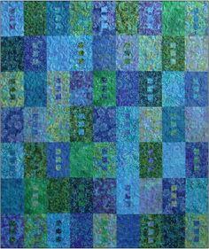 Zen - Blue Underground. Warm colors w/ black sq in each?