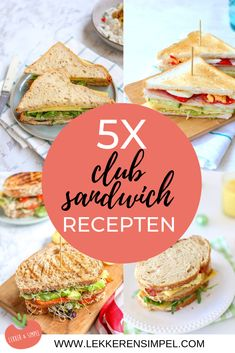 Club sandwich recipes - tasty lunch - Tasty and Simple - club sandwich recipes. You can find the tasty sandwiches for lunch here. How about a vegan club - Sandwiches For Lunch, Delicious Sandwiches, Sandwich Recipes, Berry Smoothie Recipe, Easy Smoothie Recipes, Detox Chicken Soup, Healthy Snacks, Healthy Recipes, Homemade Croissants