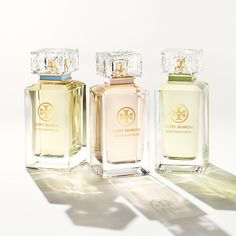 Introducing Jolie Fleur, a collection of floral fragrances from Tory Burch