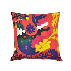 I pinned this Piki Suzani Pillow from the Found Object event at Joss and Main!