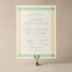 Farmstand Wedding Invitation Bella Figura - Design