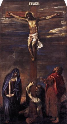Titian, Crucifixion, in the Museo Civico, Ancona