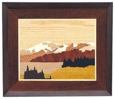Pikes Peak Drawing - Autumn Peak #20235 by Lynne Buss