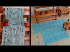 PASSADEIRA X TAPETE TUTORIAL CROCHÊ PASSO A PASSO - YouTube Youtube, Carpet Runner, Crocheting Patterns, Farmhouse Rugs, Flower, Log Projects, Youtubers, Youtube Movies