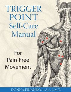 Acupuncture Pain Relief Trigger Point Self-Care Manual: For Pain-Free Movement - A guide to the treatment of pain from common sports injuries and other physical activities Autogenic Training, Trigger Point Therapy, Stiff Neck, Self Massage, Massage Tips, Headache Remedies, Trigger Points, Muscle Pain, Muscle Spasms