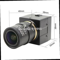 43.83$ Watch here - ali7ae.worldwells... - ELP 1MP 2.8-12mm Manual Varifocal CCTV mini CMOS OV9712 Audio Video Web camera HD with Microphone MIC for Computer PC Laptop