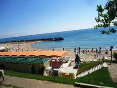 Statiunea Neptun-Olimp, Romania Continents, Romania, Engineering, Beach, Clouds, Patio, Country, World, Places