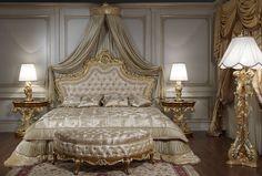 Luxury classic bedroom roman baroque style - Vimercati Meda