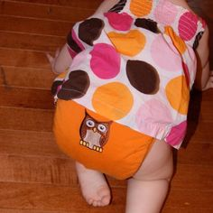 """gDiaper """"Cloth Diaper"""" - I like how they put the owl where the 'g' would go"""