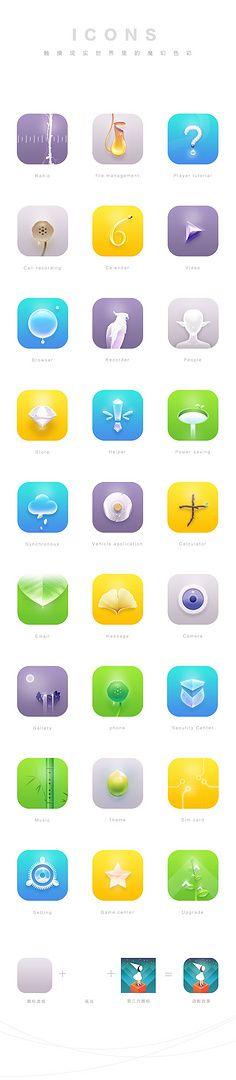 Lyqiufeng落叶秋枫采集到UI-手机主题整套