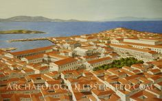 Island of Delos 2nd century BC