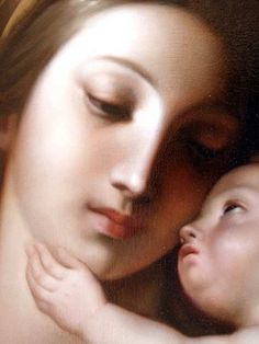 Madonna and Child (detail), Pompeo Batoni