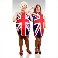 Girls Union Jack Dress