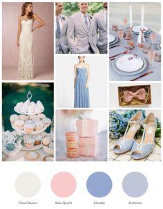Rose Quartz & Serenity | Pantone Farben des Jahres 2016                                                                                                                                                                                 Mehr