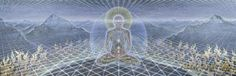 """""""Theologue"""" Blanket by Alex Grey  My favorite pic ever!  I saw this dimension once, the same! :3"""