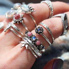 ❉ Sunset Lovers ❉ ✒ Shop The Magic Now @ www.shopdixi.com // boho // bohemian // jewellery // jewelry // grunge // witchy // goth // gothic // hippie // summer // ocean // beach // moonstone // rhodonite // seashells // rings // bracelets // mermaid // lotus // yoga // natural // ocean